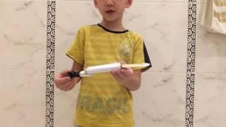 Как сделать клинок ассасина из бумаги и скотча