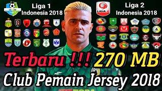 Download Fts 19 mod Gojek Liga 1 Liga 2 Indonesia V3 Full HD   New Update Club kits 6.95 MB