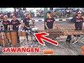 SAWANGEN - Permainan Ketipung & Drum-nya Seru bro!! CAREHAL ANGKLUNG MALIOBORO (Via Vallen Wandra)
