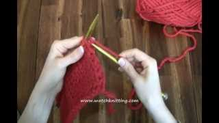 Decreasing Stitches - Free Knitting Tutorials - Watch Knitting