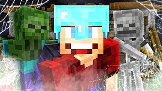 GEVAARLIJKE MONSTERS IN DE VILLA! - Minecraft Survival #270
