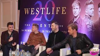 Westlife Reunion Press Conference 2018
