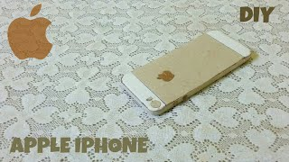 How to make a Apple Iphone out of cardboard | DIY CARDBOARD IPHONE | HOW TO MAKE | KMA INSANE HACKER