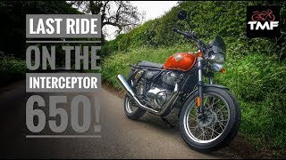 Royal Enfield Interceptor 650 - Final thoughts review