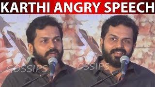Actor Karthi's new decision
