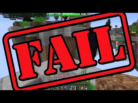 BIGGEST MINECRAFT FAIL EVER!!!