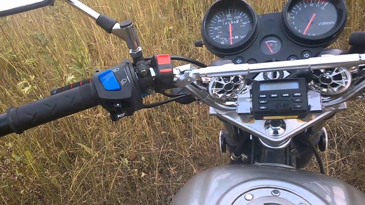 Магнитола на мотоцикл своими руками 44