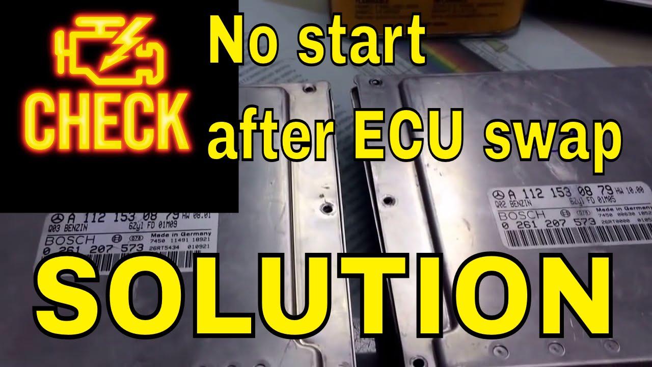 How To Mercedes Immobilizer Programing After Ecu Swap
