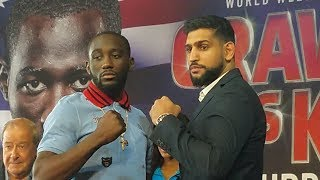 Max Kellerman sits down with Amir Khan and Terence Crawford