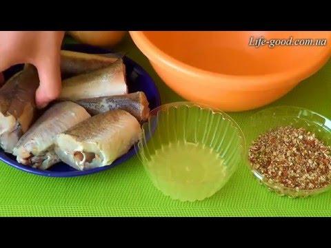 Рыба на пару  Фитнес рецепт в мультиварке / пароварке