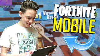 FAST MOBILE BUILDER on iOS / 955+ Wins / Fortnite Mobile + Tips & Tricks!