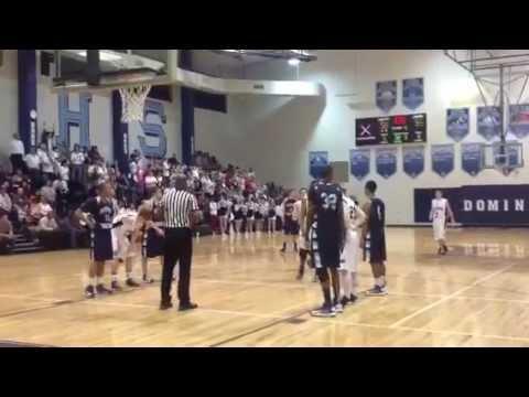 Dominion Christian Schools Boys Basketball Wins 2012-2013 GISA 1AAA Region Championship