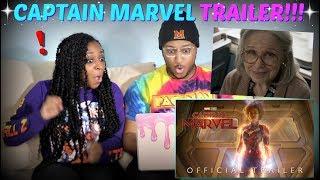 """Marvel Studios """"Captain Marvel"""" Trailer 2 REACTION!!!"""