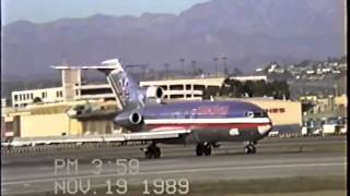 American Airlines Boeing 727-100 at LAX
