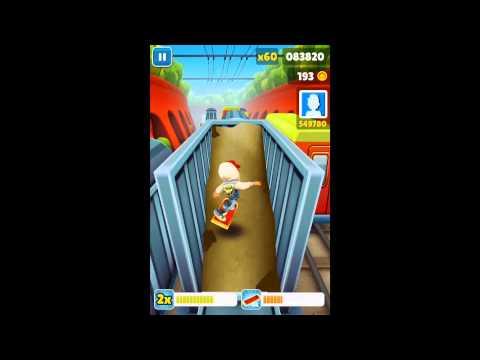 Subway surf как сделать daily challenge