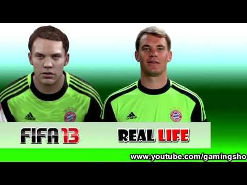 Manuel Neuer From FIFA 07 to 13
