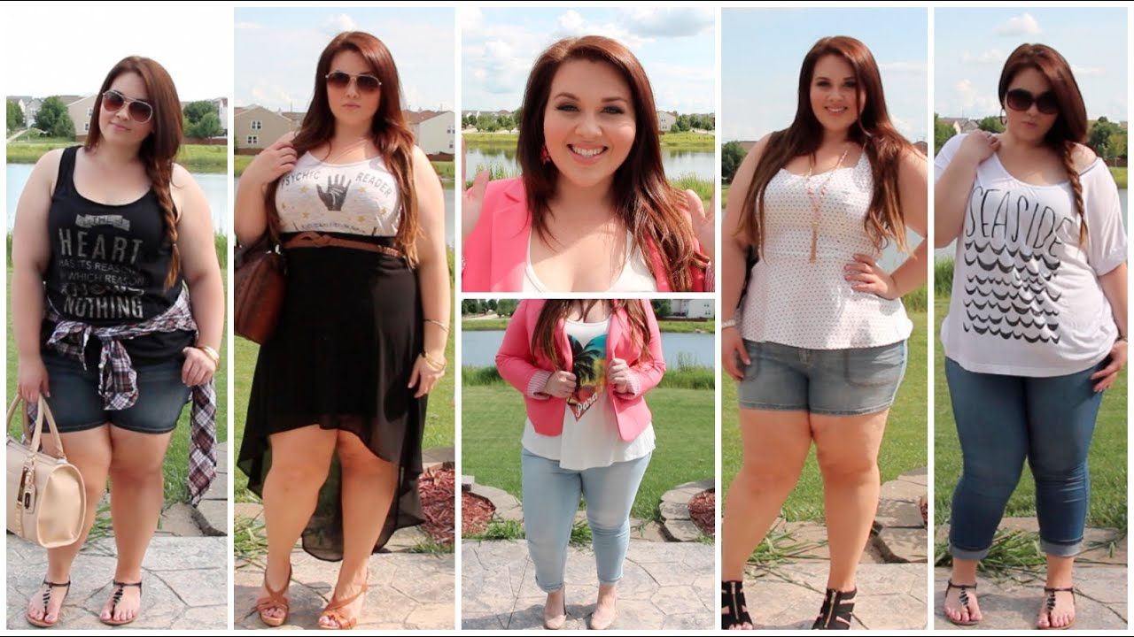 Plus Size Fashion Lookbook Plus Size Fashion Summer