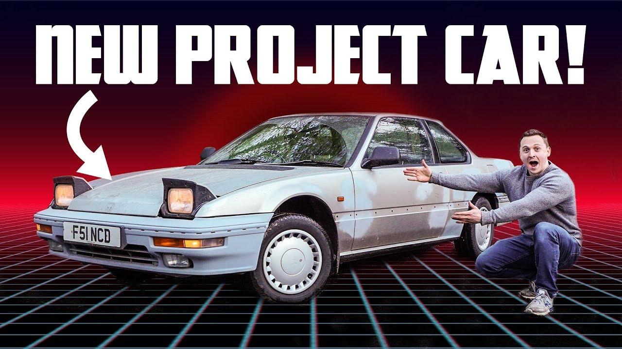 I Bought This Forgotten 80s Honda For Under £1000!