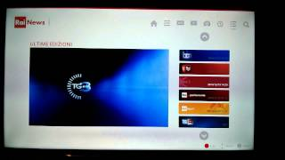 Smart TV Samsung H6200: test app TIM Vision, Rai News, funzioni guida TV, Web browser