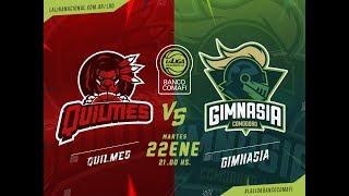 LaLigadeDesarrollo 22.01.2019 Quilmes vs. Gimnasia y Esgrima de Comodoro