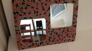 Como Hacer Un Espejo Decorado Con Mosaicos - Hazlo Tu Mismo Manualidades - Guidecentral