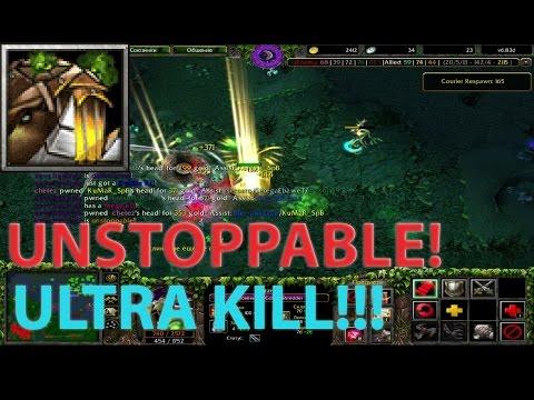 DoTa 6.83 - РАСПИЛИВАЕМ ВРАГОВ НА ТИМБЕРЕ! (Ultra KILL!) ★ UNSTOPPABLE! #1