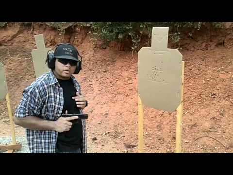 Firearms Training - 2-2-1 Drill Close Quarter Combat Point Shooting Drill Image 1