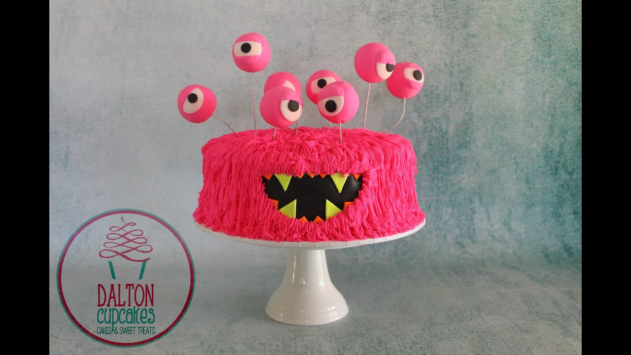 Buttercream Monster Cake How To YouTube