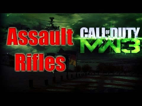 Mw3 Guns Confirmed - Assault Rifles Modern Warfare 3 All Assault Weapons Breakdown