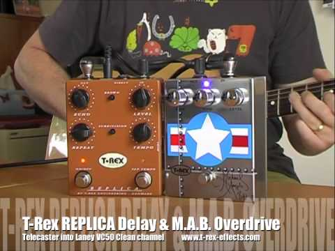 T-Rex: MABOverdrive (with REPLICA delay)