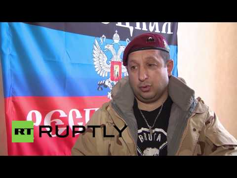 Ukraine: 'We do a righteous thing' says Serbian DNR volunteer