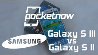 Samsung Galaxy S III vs Samsung Galaxy S II