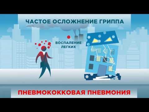 Video ролик Грипп, Пневмококк, на сайт
