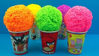 Play Foam in Ice Cream Cups Surprise Eggs Cabbage Patch Kids Little Sprouts Surprise Toys