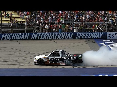 Finish @ 2014 NASCAR Truck Series Michigan