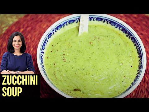 Zucchini Soup - My Recipe Book By Tarika Singh