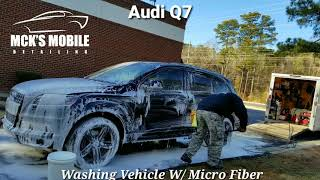 MCK'S MOBILE DETAILING / AudiQ7 / Car Wash Care / Mobile Detailing / Samsung / Galaxy 8 plus