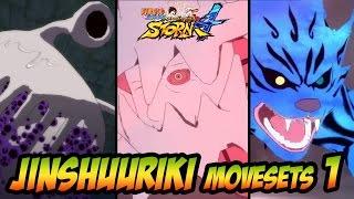 Naruto Ultimate Ninja Storm 1-4 - Jinchuuriki Movesets 1 (Utakata, Yagura, Yugito)