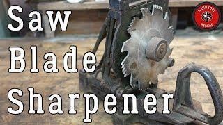 Antique Saw Blade Sharpener [Restoration]