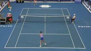 Laura Robson vs Martinez Sanchez 2010 Hopman Cup Highlights