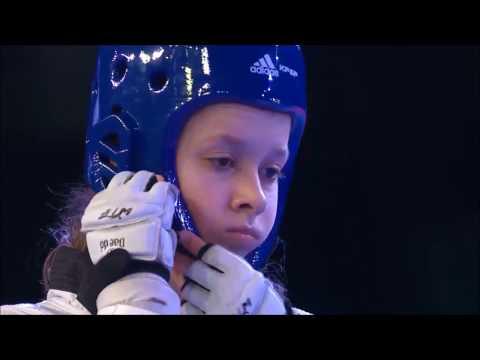 Taekwondo WTF. Чемпионат мира среди юниоров. Полуфинал. Ж-52 Kvartalnaya-Aoun
