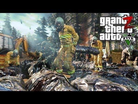 GTA 5 Зомби Апокалипсис - УНИЧТОЖЕННАЯ ВОЕННАЯ БАЗА В ГТА 5 МОДЫ 33! GTA 5 ОБЗОР МОДА
