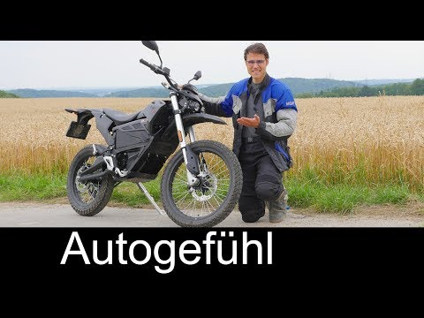 Zero FX electric motorcycle FULL REVIEW e-bike Enduro test - Autogefühl