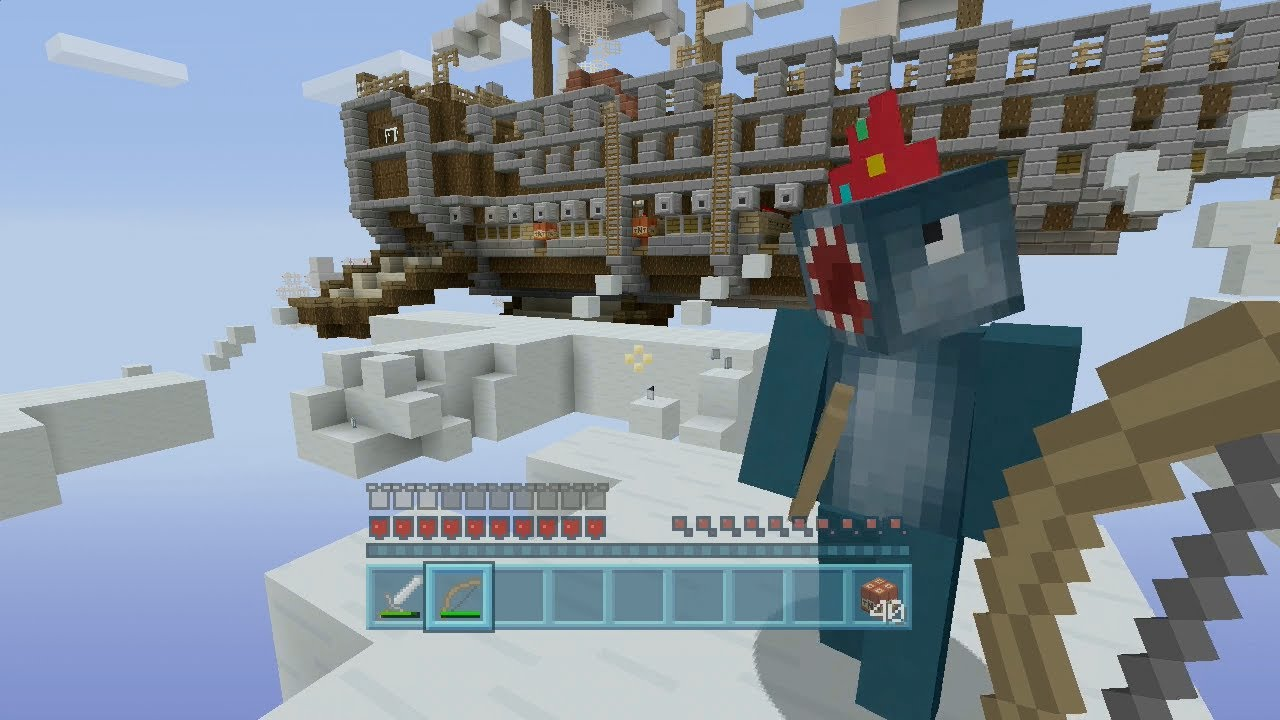 Minecraft Xbox - Air Ship Battle Royal - Squid & Stampy Vs Amy Lee ...