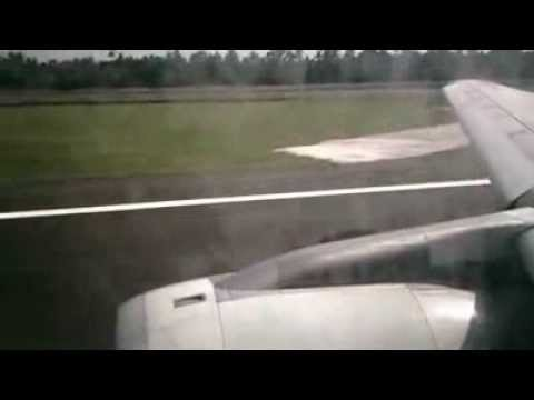 A321 qatar airways cool taxi and takeoff from cochin intl.