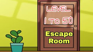 Escape Room: mystery word Level 1 To 50 Clear all answers Android ios gameplay