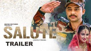 SALUTE (Trailer) Nav Bajwa, Jaspinder Cheema, Sumitra Pednekar | Punjabi Movies 2018