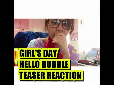 [Teaser] GIRL'S DAY(걸스데이) _ Hello Bubble (Reaction Video)