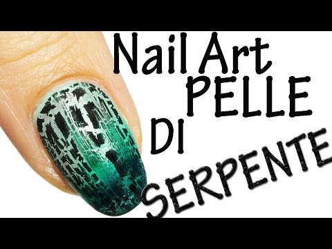 Nail Art Tutorial sponge crack