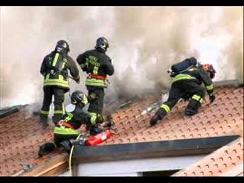 il pompiere paura non ne ha inno